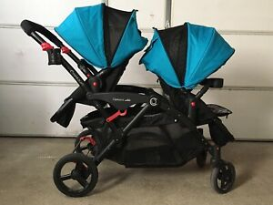 Contours Options Elite Double Stroller in Laguna