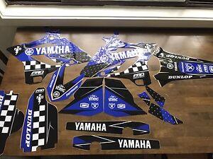 Yamaha YZ250 2 stroke  sticker kit Wollongong Wollongong Area Preview