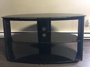 """42"""" TV Stand Glass and Metal"""