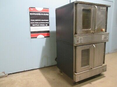 Southbend H.d. Commercial Natural Gas Double Stacked Convection Bakery Oven