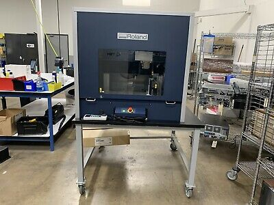 Roland Mdx-540sa Modela Pro Ii Milling Machine W Ztt-540 Table Enclosure