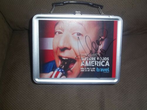 ANDREW ZIMMERN signed in person authentic autograph lunchbox