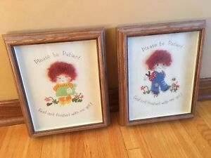Set of pictures for kids room