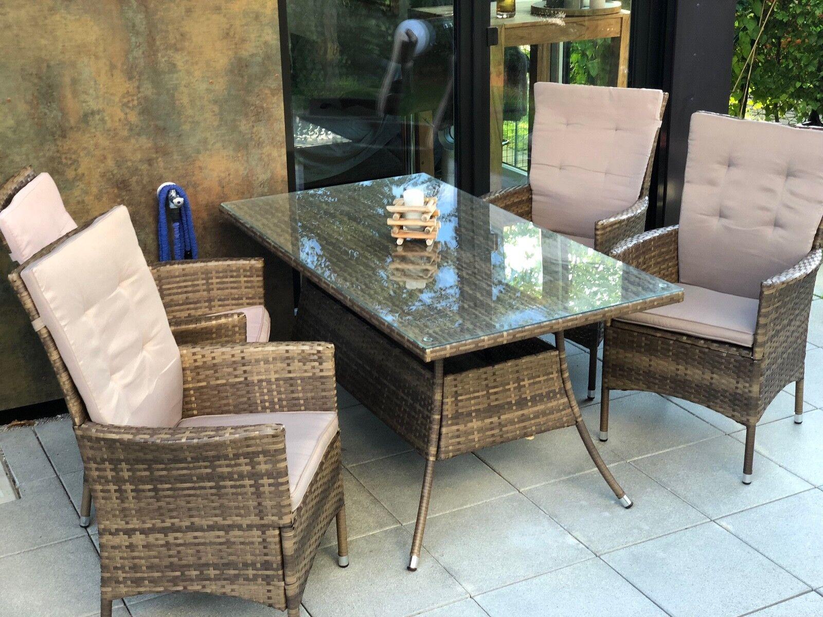Gartentisch Mit 4 Stuhlen Test Vergleich Gartentisch Mit 4