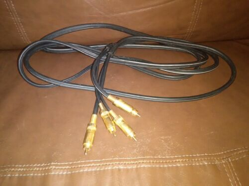 RCA 10ft Deluxe Audio Cable heavy duty connectors