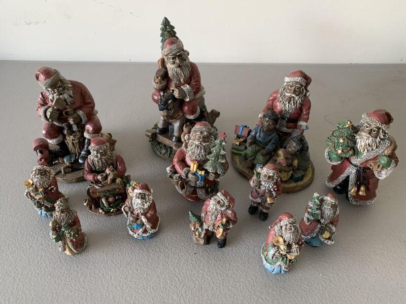 Black Santas Christmas Decoration