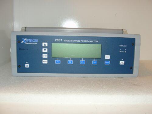 Xitron Technologies 2801+DL Single Channel Power Analyzer