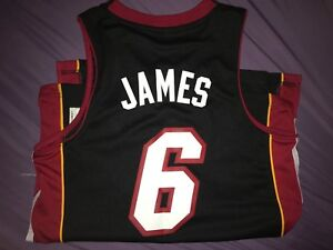 Lebron James miami jersey