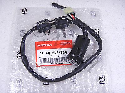TRX250 Recon 01-05 Nuevo Honda OEM Encendido Interruptor con / Llaves 5045-006