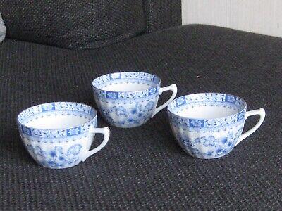 Seltmann Weiden Theresia China Blau Teetasse mit Untertasse Tasse Untere Gedeck