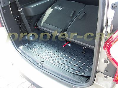 Geriffelte Kofferraumwanne für Dacia Lodgy Stepway Van Kombi 5-türer 2012-5Sitz