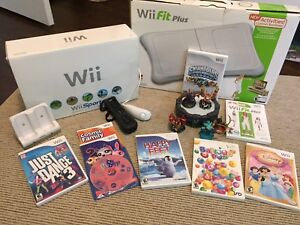 Wii sport and Wii Fit