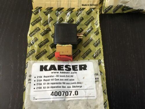 Kaeser 400707.0 aux vent valve solenoid repair kit.