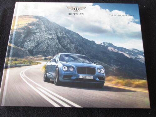 2018 Bentley Flying Spur Hardcover Brochure V8  W12 S Big Detailed Sales Catalog