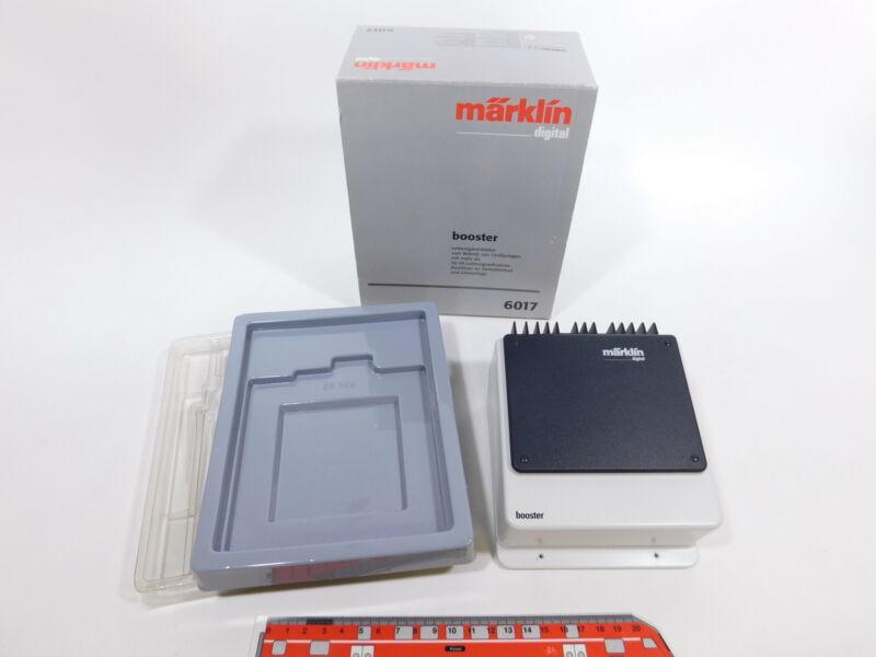 CS861-1# Märklin Digital H0/AC 6017 Booster/Amplifier, Very Good +Box