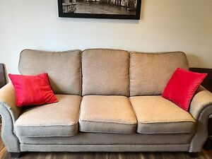 Couch and love seat - like new condition  St. John's Newfoundland image 1