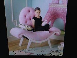 Bombay Kids 4 ' Wide Plush Boudoir Princess Seat Chair