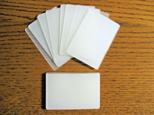 LAMINATING / LAMINATOR POUCHES 2-5/8 X 3-7/8 ID CARD