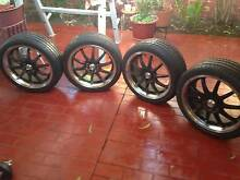 Black IB Racing Alloy 18 inch rims Wakeley Fairfield Area Preview