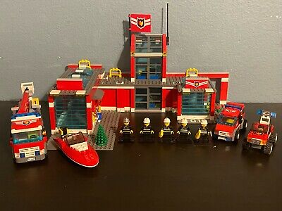 Retired Lego City Fire Lot 7945, 7241, and 4641!