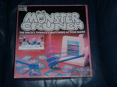 Parker Brothers MONSTER CRUNCH Board Game  - RARE ()