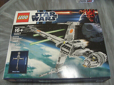 Lego #10227 Star Wars B-wing Starfighter  New & Sealed 1487 pieces!