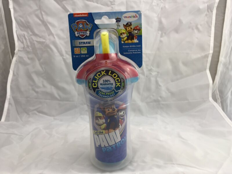 Paw Patrol Baby Spill Proof Click Lock 9 oz Sippy Cup Tumbler By Munchkin