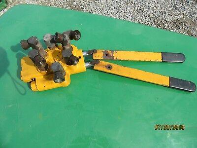 EXCEL HUSTLER 340 400 440 ROTARY MOWER HYDRAULIC VALVE  (Hustler 400)