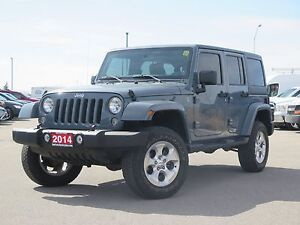 Why This 2014 Jeep Wrangler Unlimited Sahara?