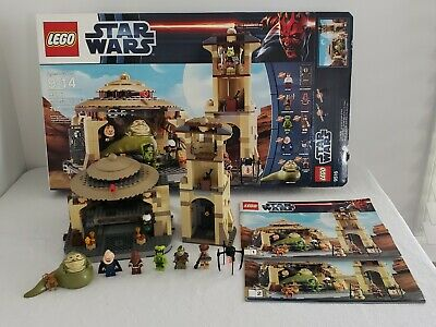Lego Star Wars Jabba's Palace 9516 100% complete. Includes box & instructions