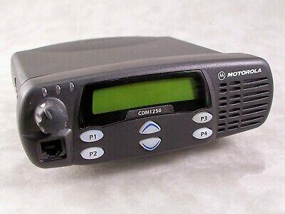 Motorola Cdm1250 Vhf 64ch 45w Mobile Radio Wnew Accessories