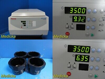 Thermo Electron Iec Cl40 Centrifuge 11210923 W 4x 11174154 Buckets 21845