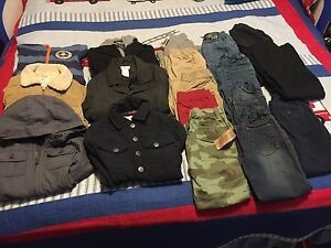Boys clothes lot size 4T/5T