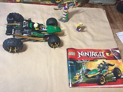 Lego Ninjago Jungle Raider 70755 Used w/ Minifigures Box Missing a Few Pieces