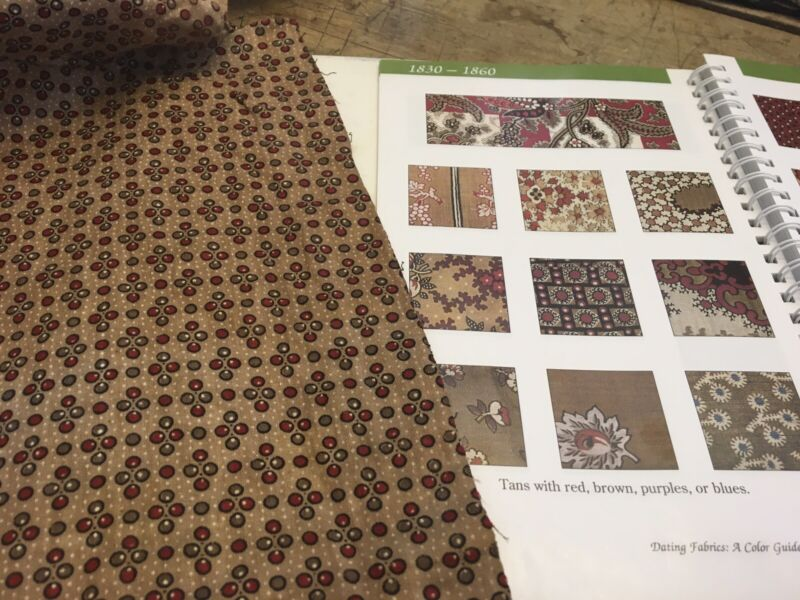 AAFA Antique Fabric 1800