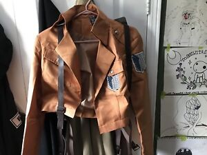 Attack on Titan wings of freedom coat(female)