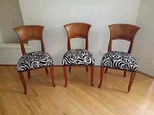 Vintage dining chairs Beeliar Cockburn Area Preview
