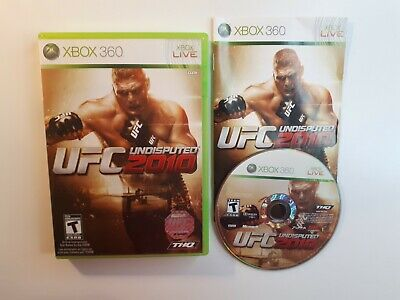 Used, UFC Undisputed 2010 (Microsoft Xbox 360, 2010) COMPLETE CIB - FAST FREE SHIPPING for sale  Quebec