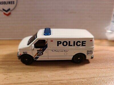 Ford Police Panel Van 1/64 die-cast loose Matchbox