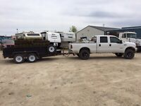 Dump runs, garbage removal, site clean up, spring clean up
