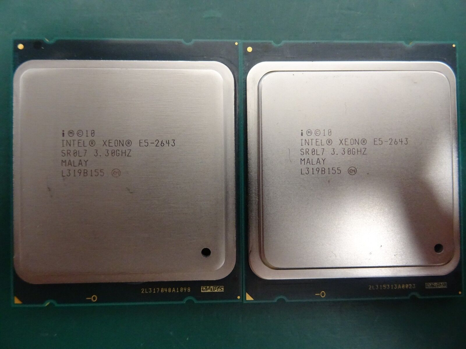 SR0L7 Intel Xeon E5-2643 3.30GHz Quad Core 10MB LGA2011 CPU Processor
