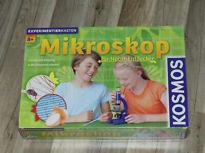 KOSMOS Mikroskop für NaturEntdecker Game Kinder Spielzeug Spiel Alter 8
