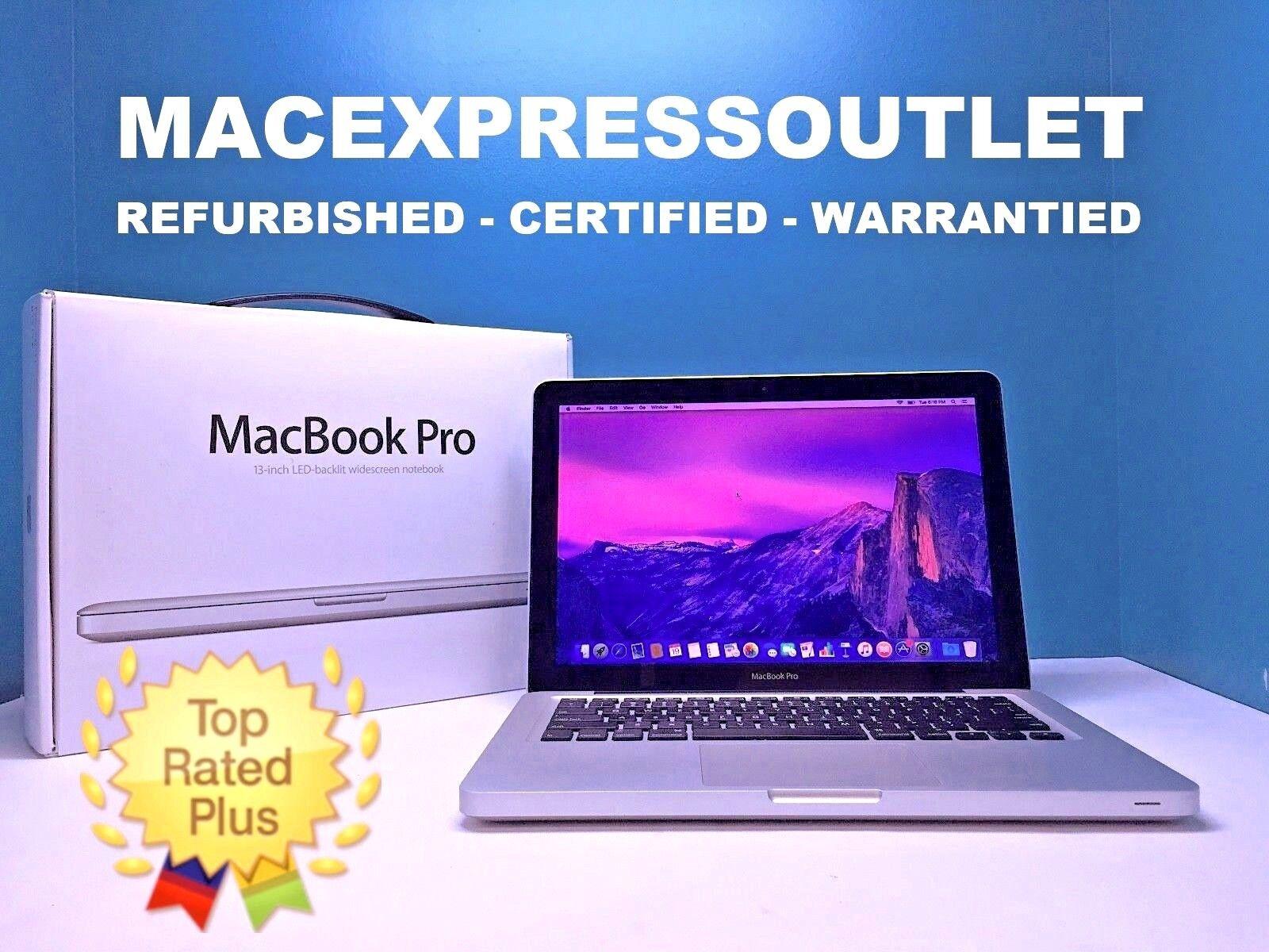 """APPLE MACBOOK PRO 13"""" PRE-RETINA / 3.0GHz i5 / FAST 8GB RAM / OS-2017 / WARRANTY"""
