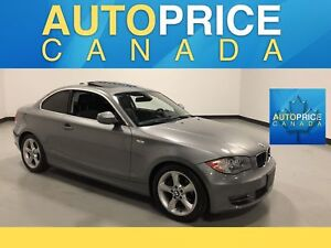 2011 BMW 128 i MOONROOF|LEATHERETTE|XENON