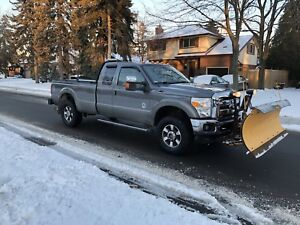 2011 Ford F-350 SuperDuty 6.7L Diesel 4X4 WITH SNOW PLOW