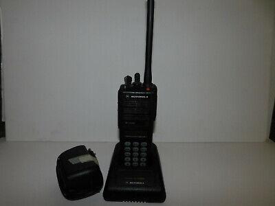 Motorola Mt2000 160 Channel 136-174mhz Model 3 12.5khz Portable Radio Pd Fd