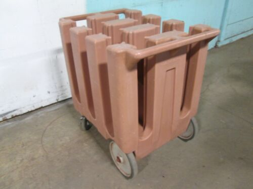 """""""CAMBRO DC575"""" HDCOMMERCIAL 5 1/2""""PLATE HOLDER/DISPENSER/CARRIER POLY CART/CADDY"""