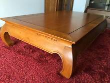 Coffee Table- solid Timber Far pavillion Indonesian Style Molendinar Gold Coast City Preview