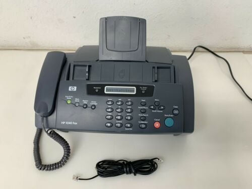 HP 1040 Inkjet Fax Machine Tested Works No Ink