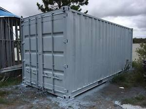 shipping container freshly painted inside & out CLEAN & FRESH Jacobs Well Gold Coast North Preview